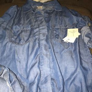 New Andrea Jovine jean shirt.